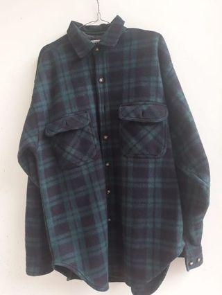 Kemeja Flannel American Weekend