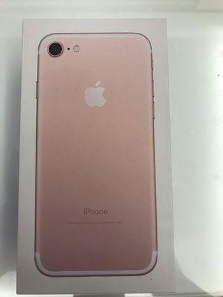 iPhone 7& 8plus手機外盒(only box)