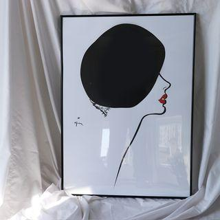 Miss Dior Inspired Fashion Wall Art Decor
