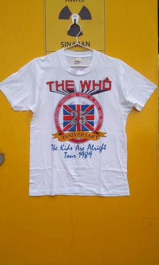 THE WHO TOUR VINTAGE T-SHIRT