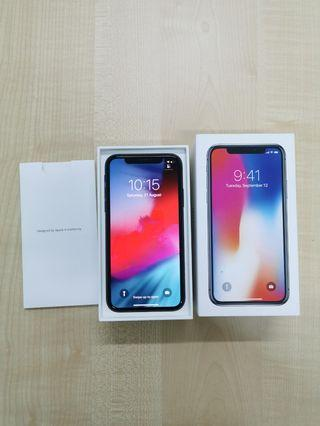Iphone x 64gb not telco set