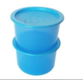Tupperware one touch x 2 (600ml)