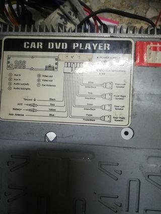 Radio/player dvd
