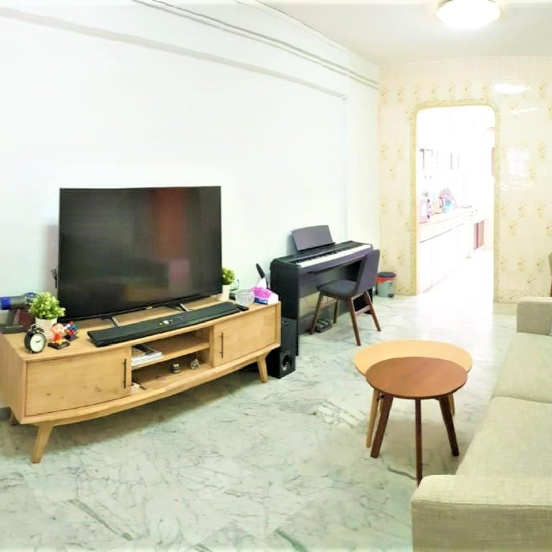624 Ang Mo Kio Ave 4 – Mins to NEW LENTOR / VERY NEAR YIO CHU KANG MRT! AMK HUB; Market and All PR and Races eligible!!