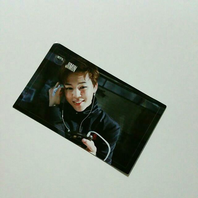 [🆓 Pos] BTS Jimin Dark and Wild official Photocard