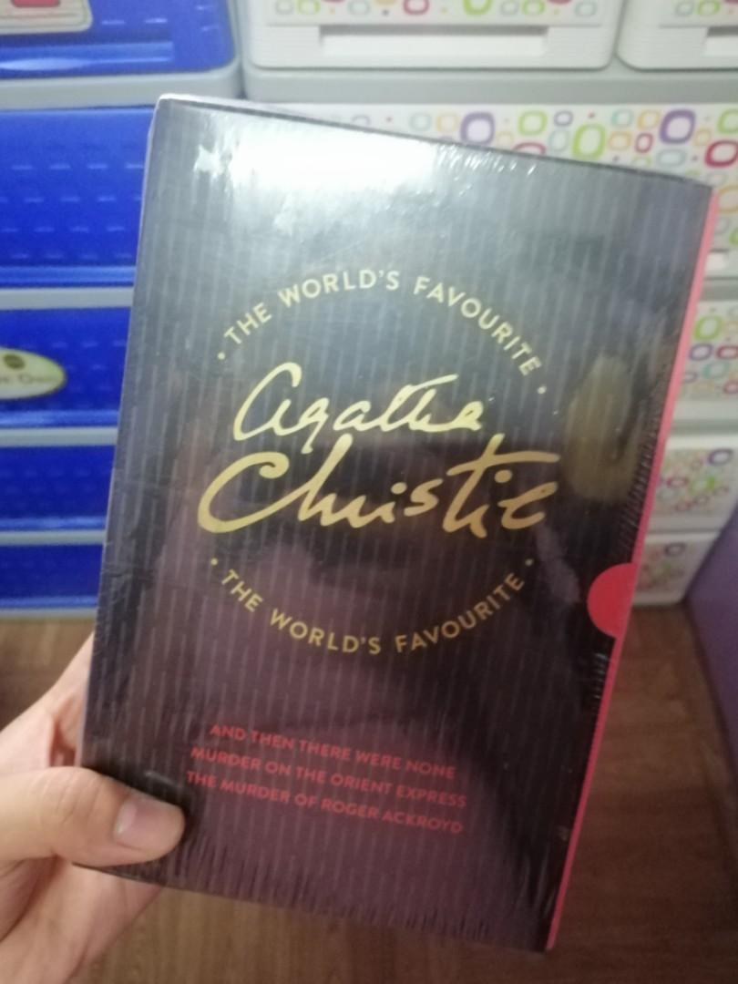 Agatha Christie collection (And then there were none, Murder on Orient express, etc)