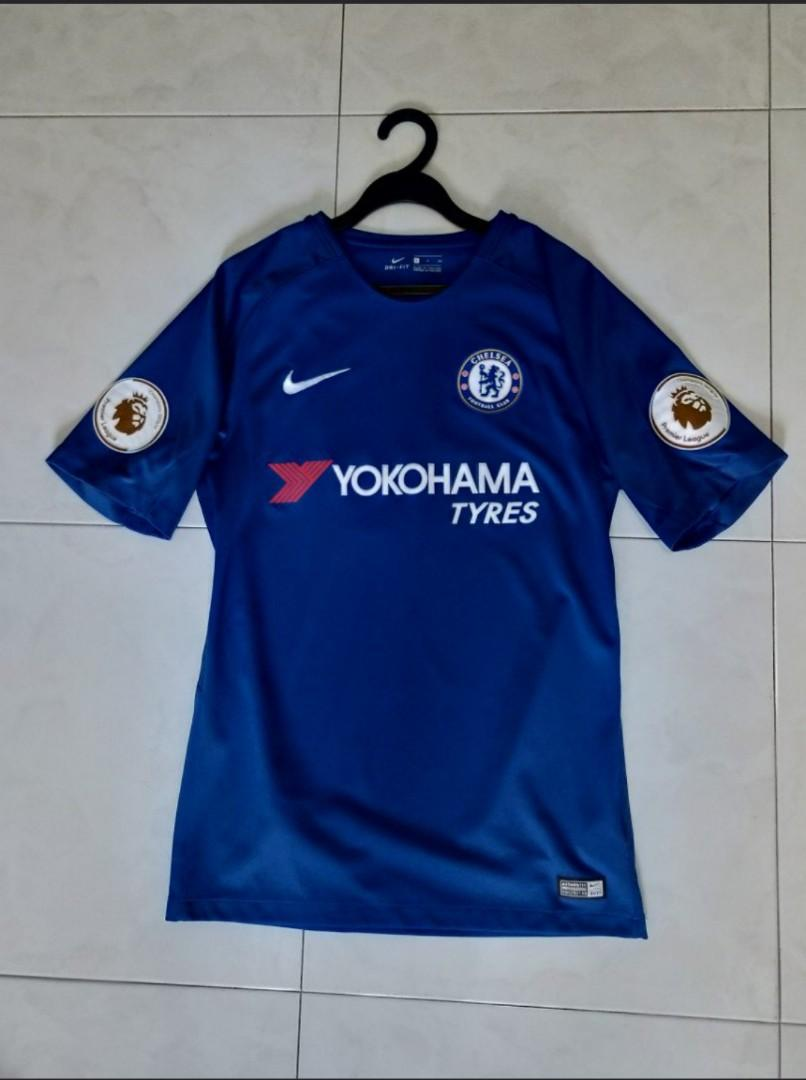 cheap for discount 1ed4f 0018b Authentic Nike Chelsea FC 2017/2018 Football Home Jersey ...