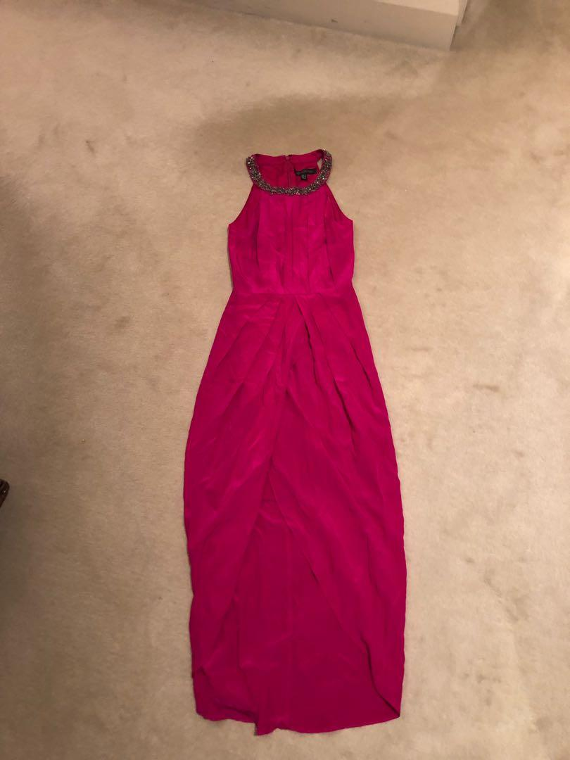 Brand new Forever New without tags size 4 fuschia party dress