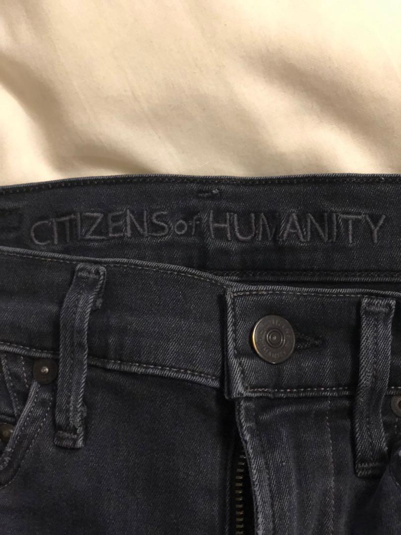 Citizens of humanity rocket high rise skinny distressed jeans from aritzia size 23