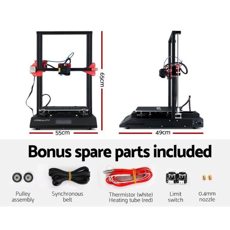 Creality CR-10S Pro 3D Printer Auto Levelling High Precision 300*300*400mm