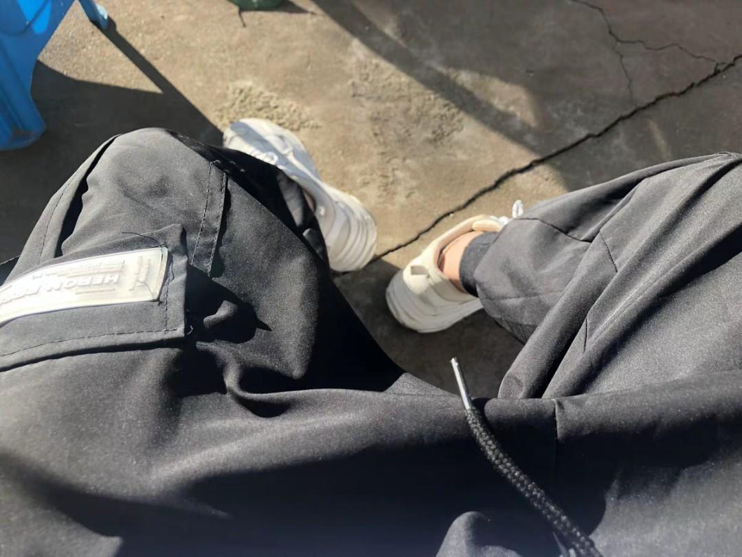 DEMONS BLACK BOX JOGGERS MEN WOMEN HYPE STREET PANTS