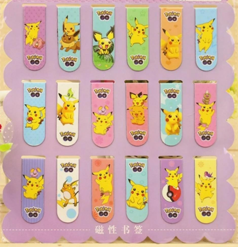 Disney cartoons double sided magnet bookmark, kid birthday party goodies stationery item