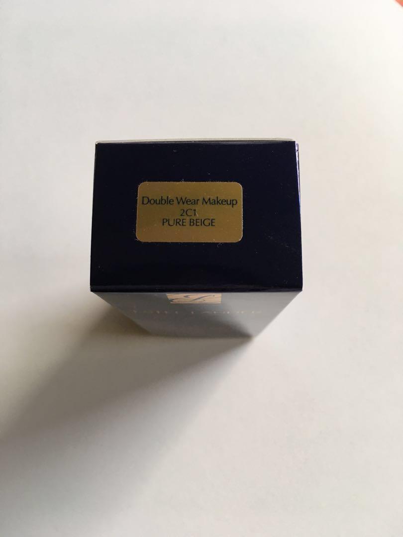 Estée Lauder double wear foundation new 2C1 pure beige
