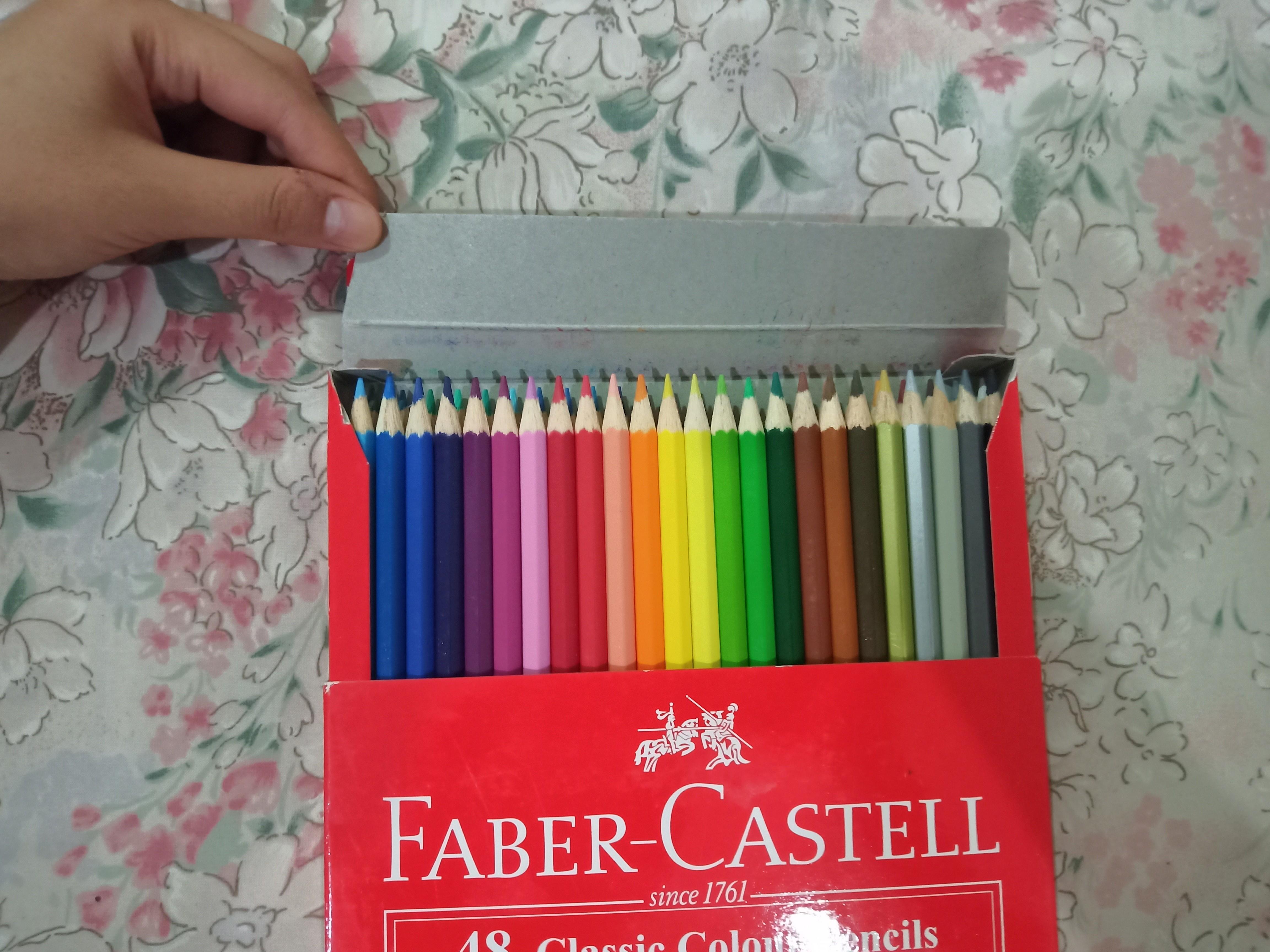 FABER CASTELL Pensil Warna 48 Classic Colour pencils