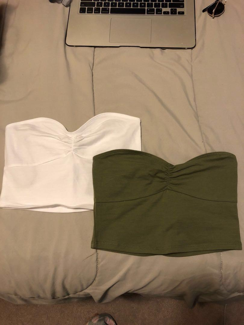 Forever21 Sweetheart Tube Tops (THREE)