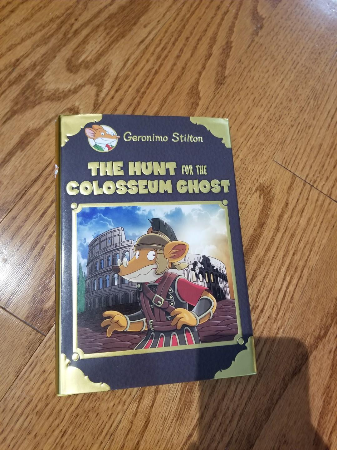Geronimo Stilton - The Hunt for the Colosseum Ghost  (hardcover)