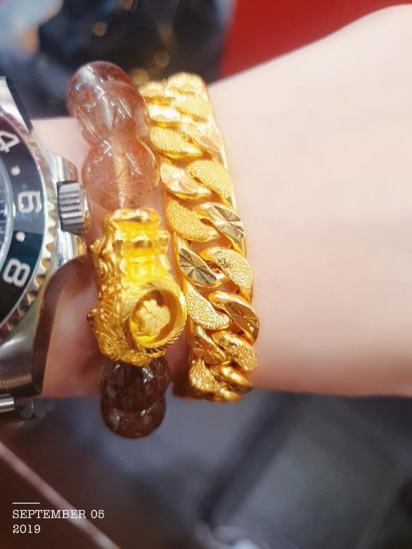 Gold 916 Bracelet