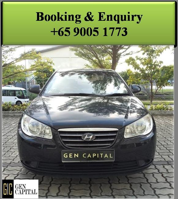 Hyundai Avante 1.6A - Best rates, full servicing provided!