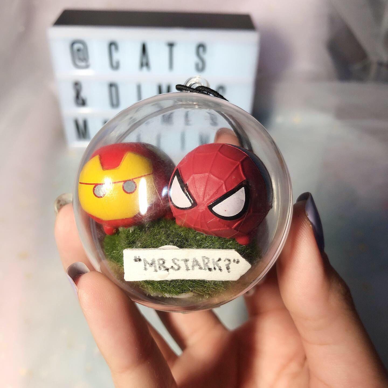 [INSTOCK] Marvel Spider-Man 🕷& Iron Man Memory Capsule