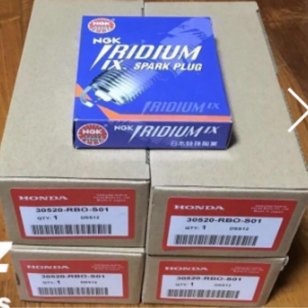 IRIDIUM/DENSO SparkPlug & Ignition Coil For Car/ Motorcycle
