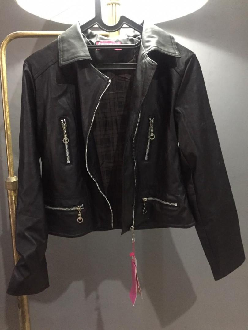 Leather Jacket Jaket Kulit