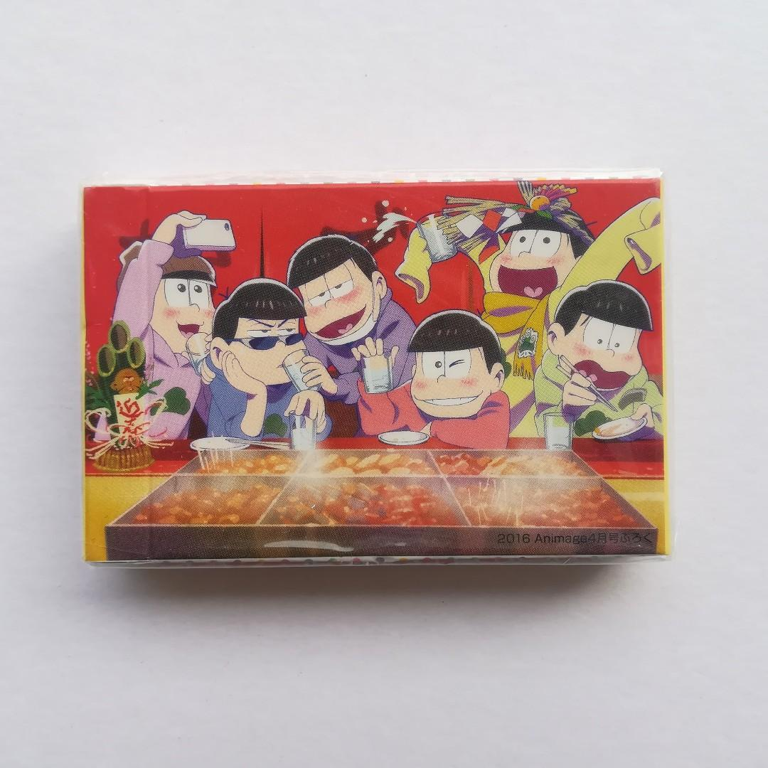 (Limited + Exclusive) Osomatsu-san x Animage - Playing Cards / Trump