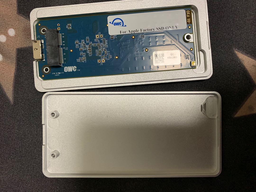MacBook SSD enclosure