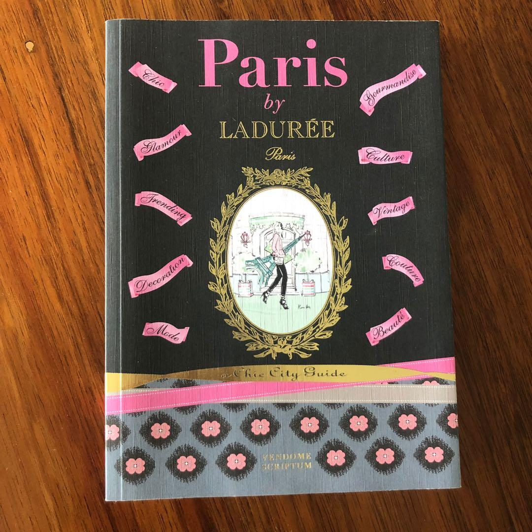 PARIS BY LADUREE A CHIC CITY GUIDE COFFEE TABLE BOOK FRANCE