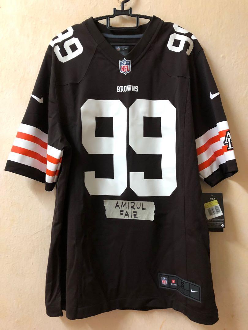 Paul Kruger Cleveland Browns Jersey