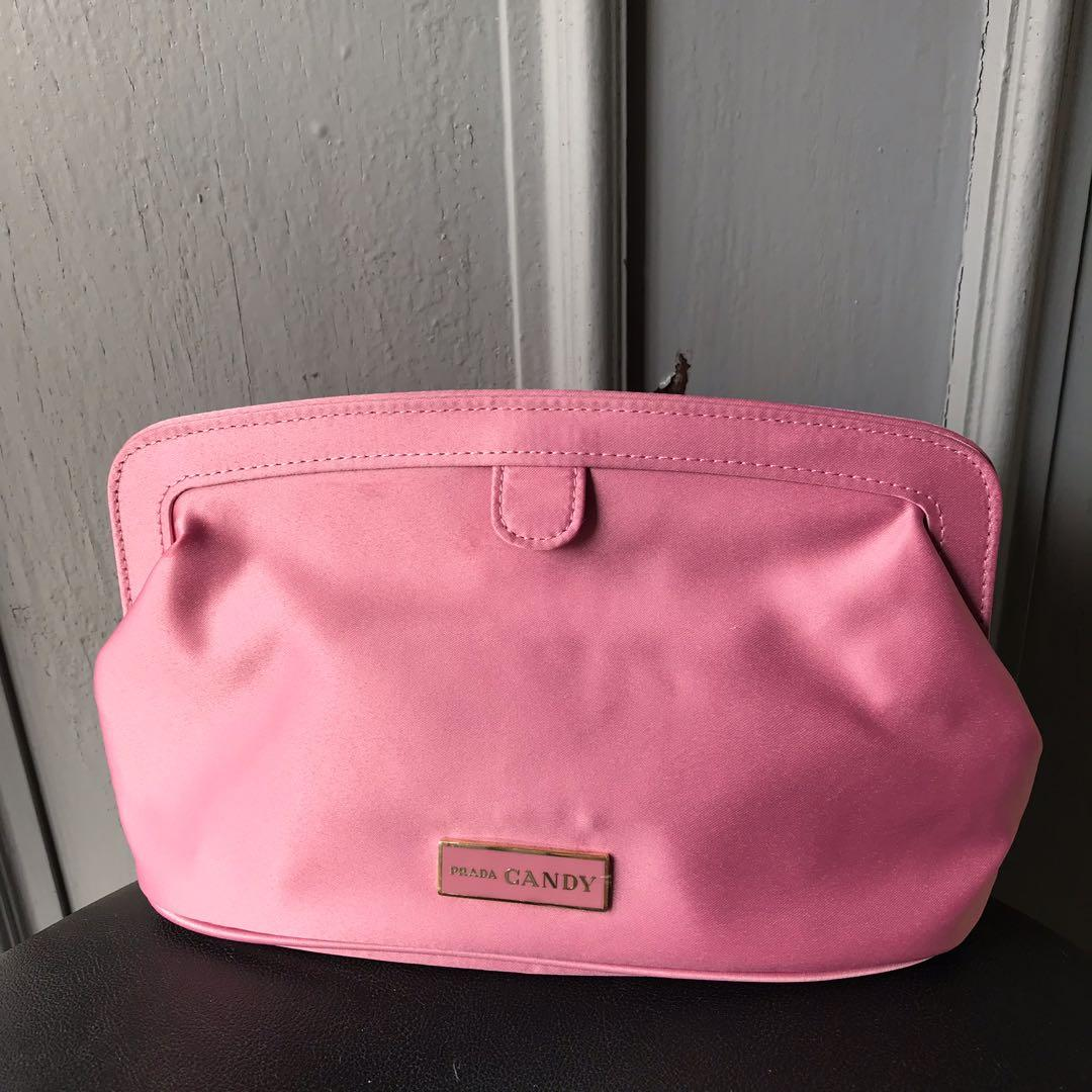 Prada Candy Pouch Clutch