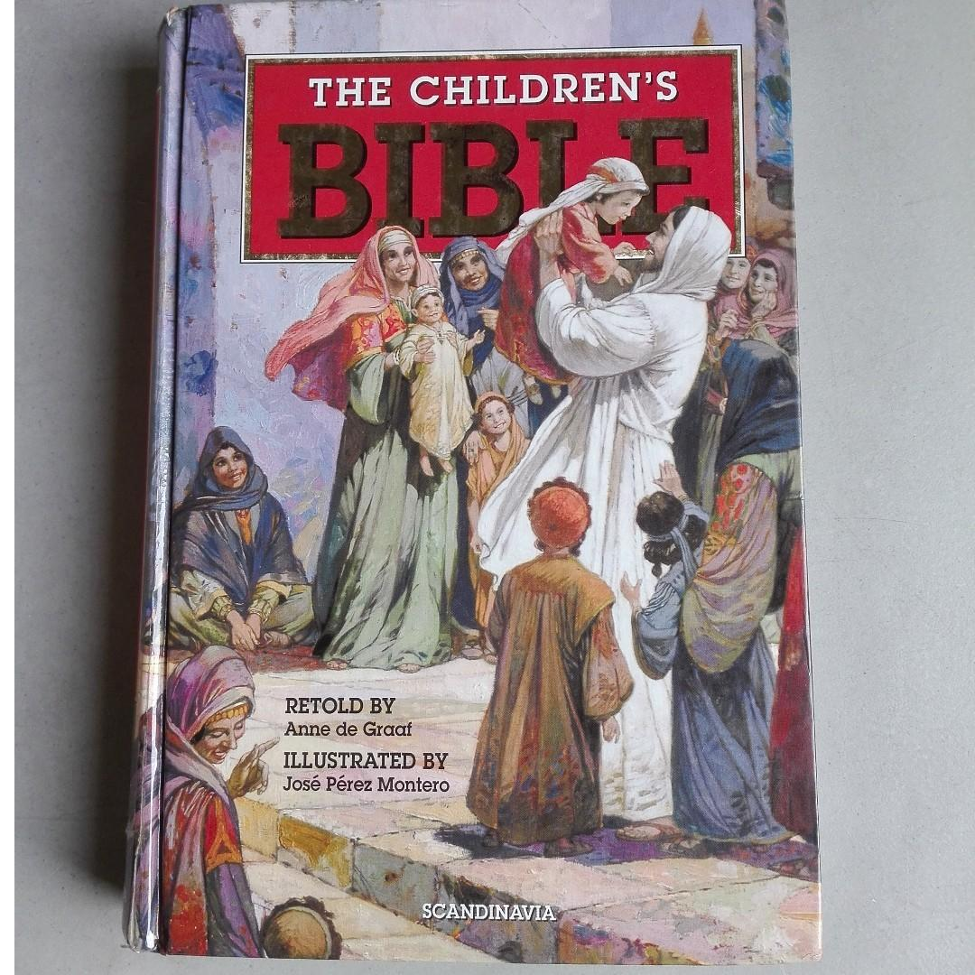 SALE BOOK  ;  The Children's Bible (hardcover) by Anne De Graaf (author) illustrated by Jose Perez Montero