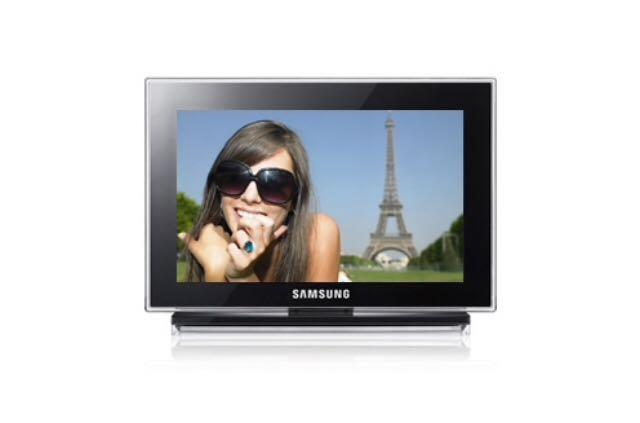 Samsung Digital Photo Frame Player Model 1000P Preowned Great Condition