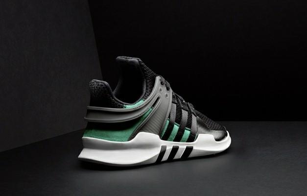 Sepatu Adidas EQT Support ADV Black Green Premium Original