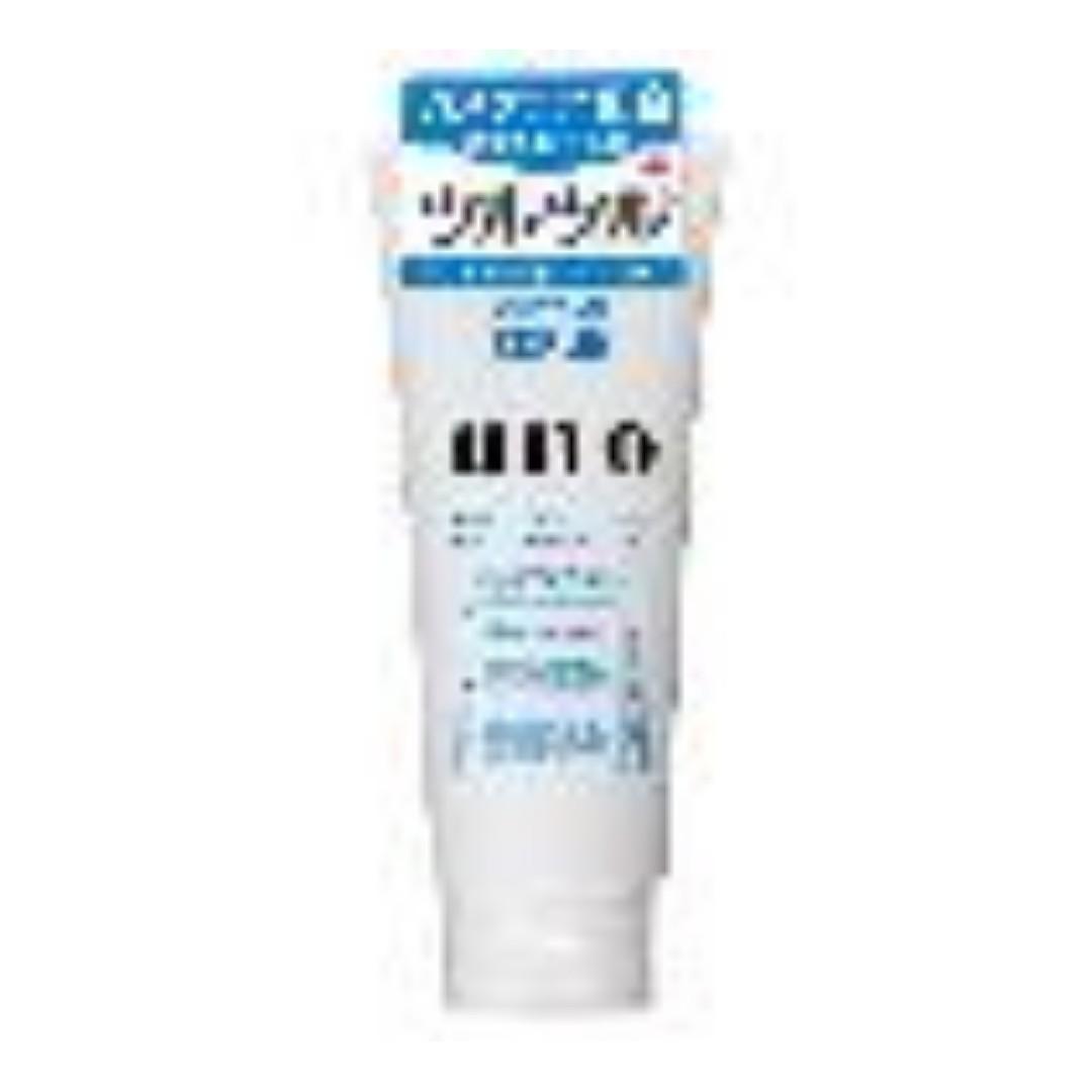 Shiseido - UNO潤洗顏 保濕洗面乳 130g (藍色磨砂)