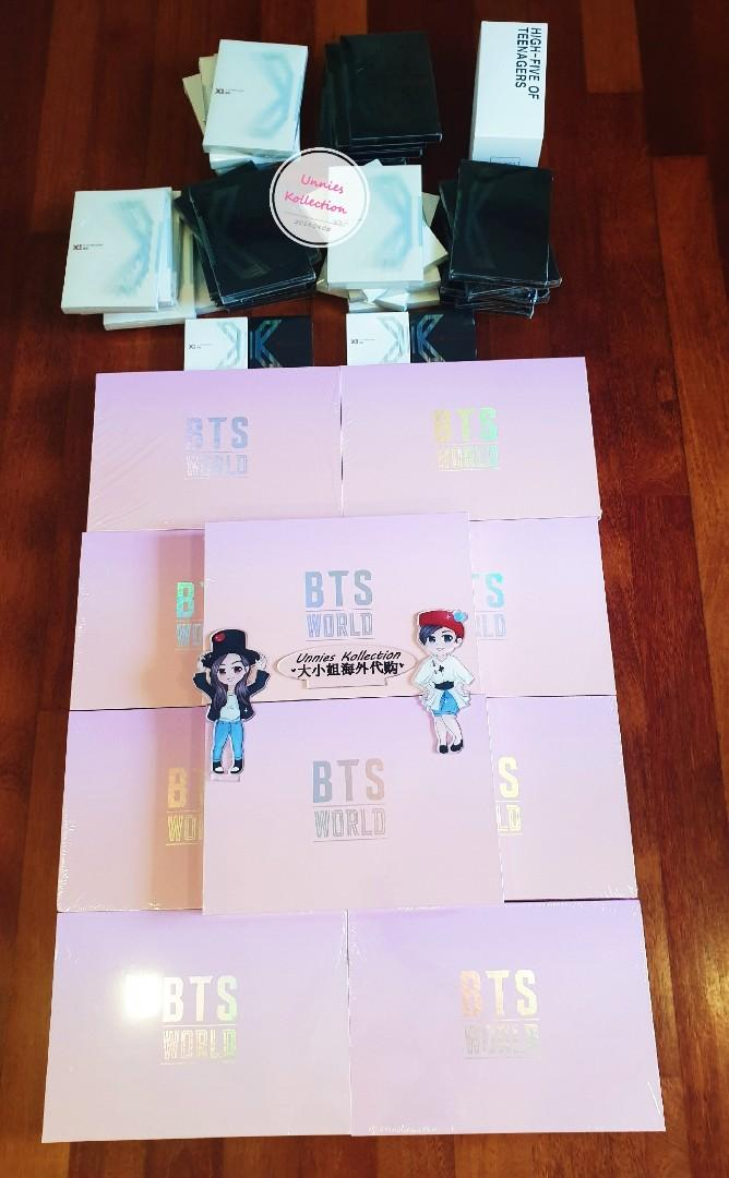 💥💥STOCK ARRIVAL💥💥 BTS WORLD LIMITED EDITION, X1 QUANTUM LEAP & HOT OFFICIAL LIGTHSTICK