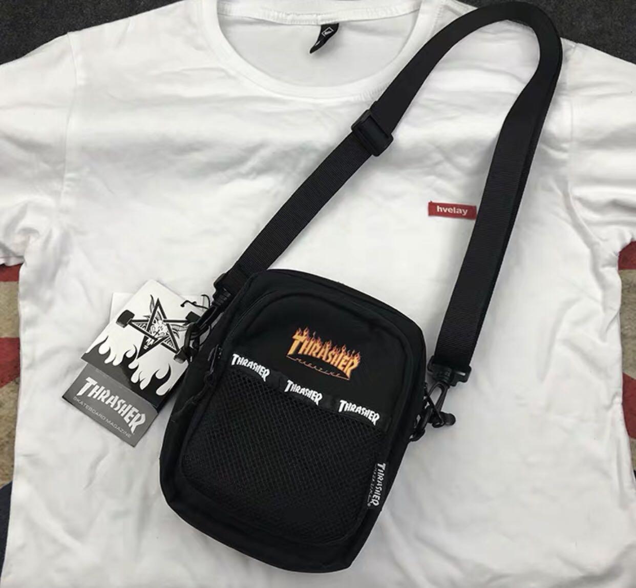 Thrasher Wording Sling Bag (Brand new and instocks)