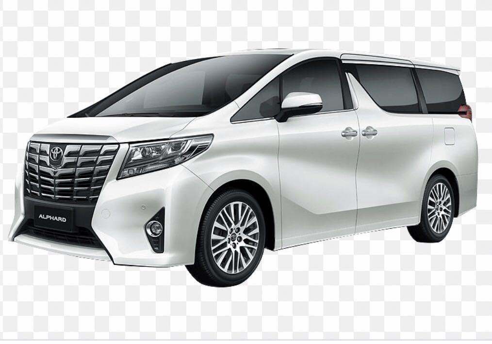 Toyota Alphard Hybrid 2.5a 7seaters