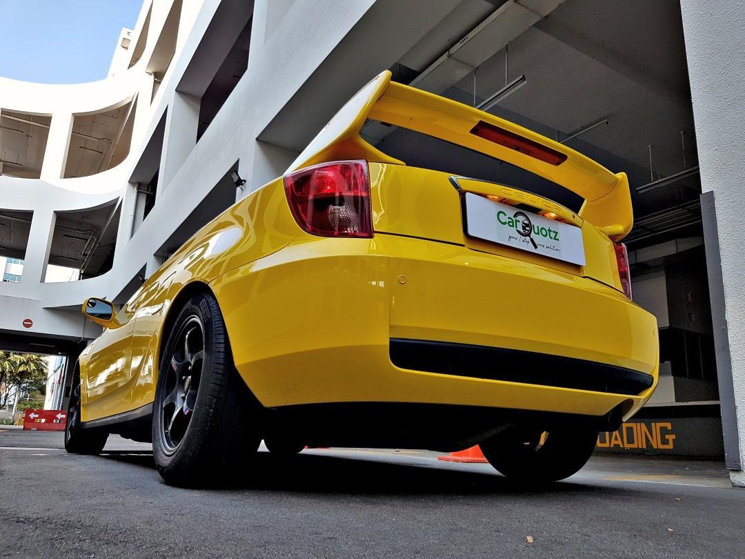 Toyota Celica for rent