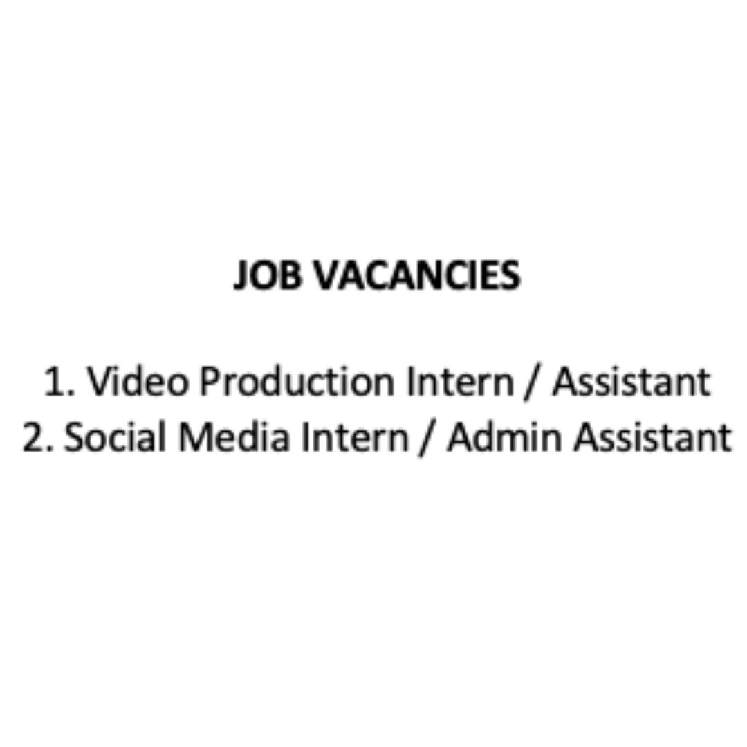 Video Production Assistant / Social Media Intern