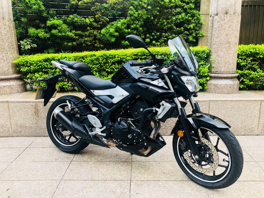 YAMAHA MT03 ABS 2017發照