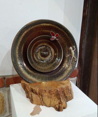 柴燒陶瓷夜燈