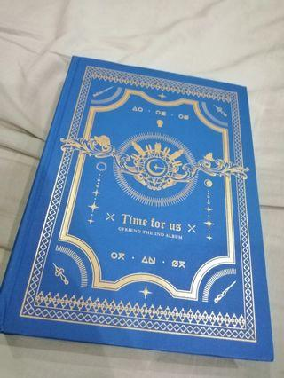 GFRIEND LIMITED EDITION TIME FOR US