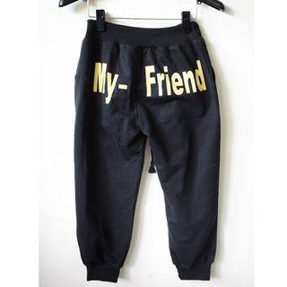 【my-friend】綁帶七分褲
