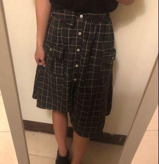 不對稱長裙