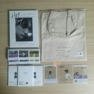 [Pre-Order] GOT7 JINYOUNG PHOTO BOOK in JEJU [HEY GUYS] CONCEPT STORE