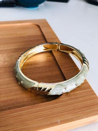《手飾》彩釉光竹節手環