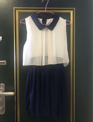 PSGB雪紡短洋裝