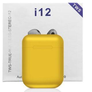 i12 TWS Airpods / i12 TWS / Airpods / i12 Bluetooth Earphone / i12 Bluetooth Headset / i12 Bluetooth Earbuds