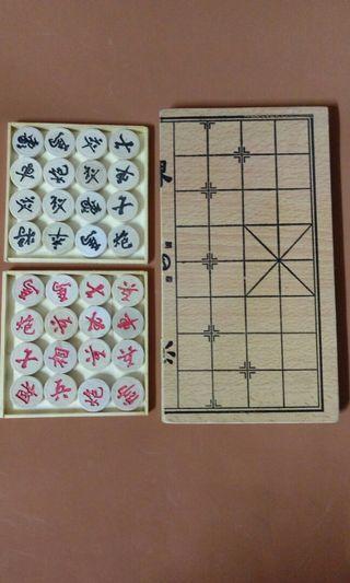 木質象棋,木盒裝