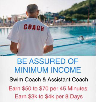 Kid & Child Swimming Coach Teacher As A Career